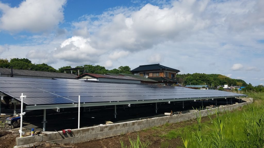 太陽光 フェンス工事